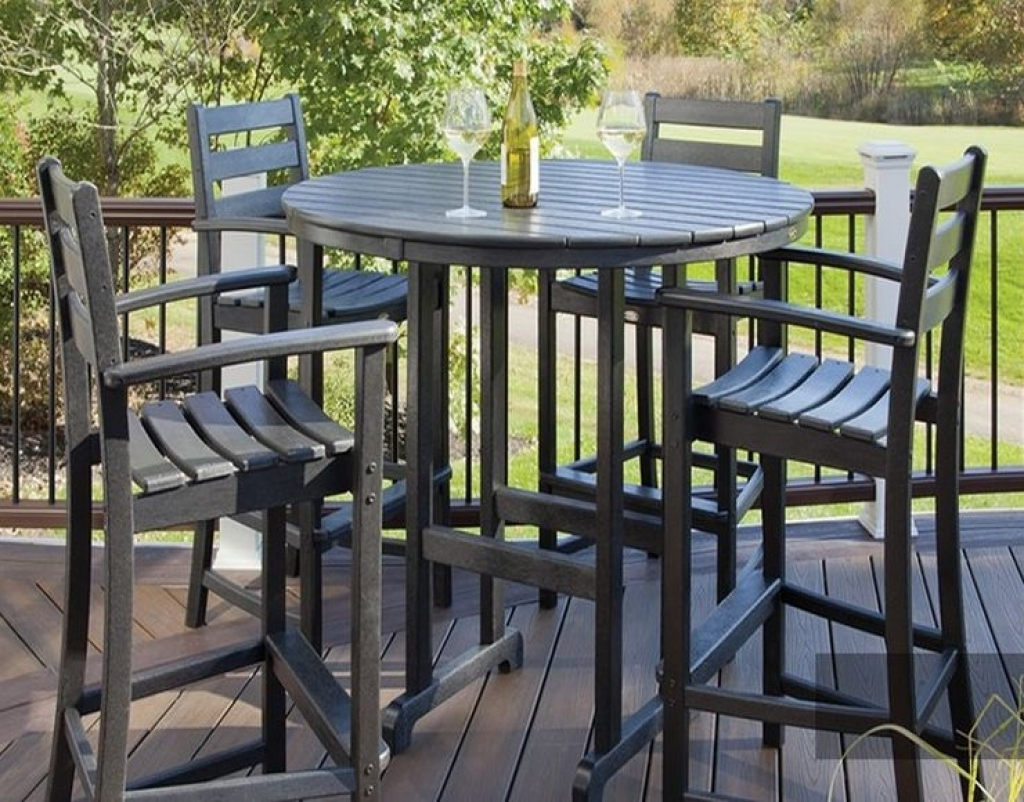 cottage 5 piece marble outdoor dining set stone patio furniture clearance n
