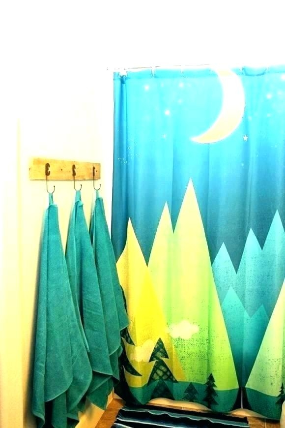 outdoor themed shower curtains bathrooms designs 2017