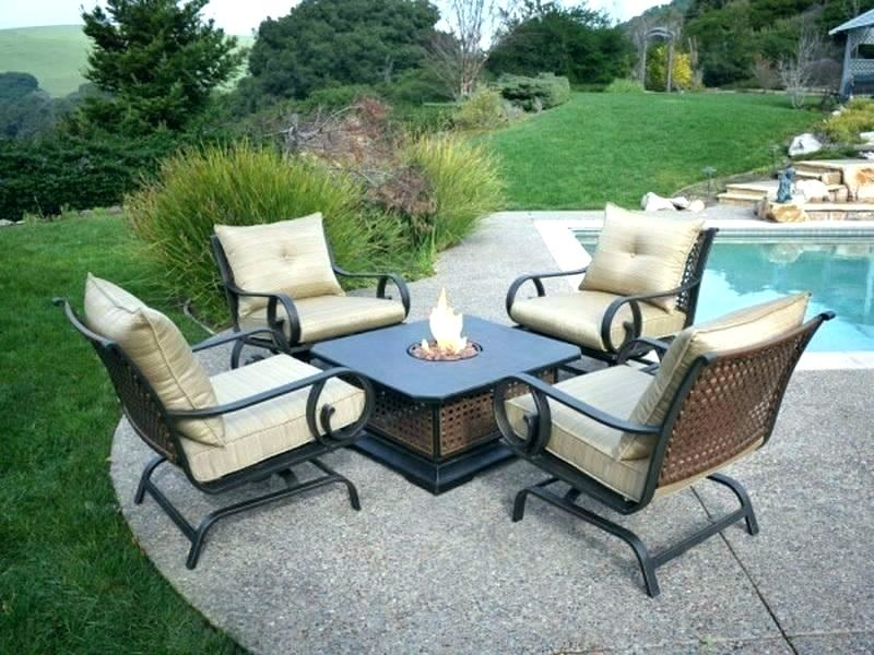 outdoor fire pit furniture sets