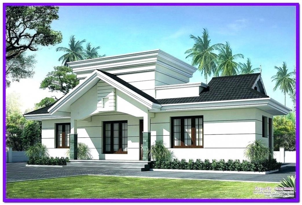 The two story home Exterior design