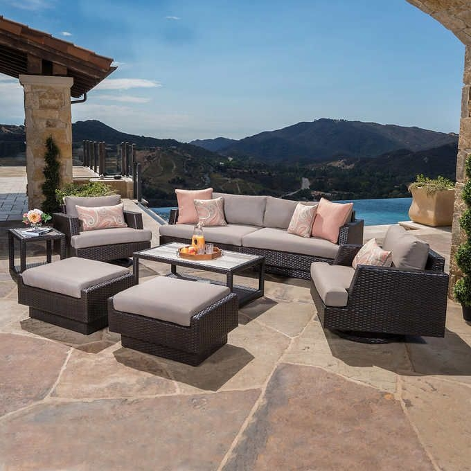 patio furniture outdoor blue portofino comfort garden furnitur