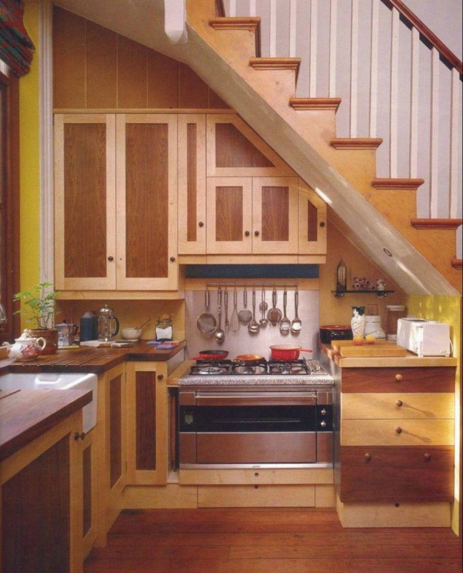 Kitchen Design: Under Stair Kitchen Under Stairs Kitchen Ideas