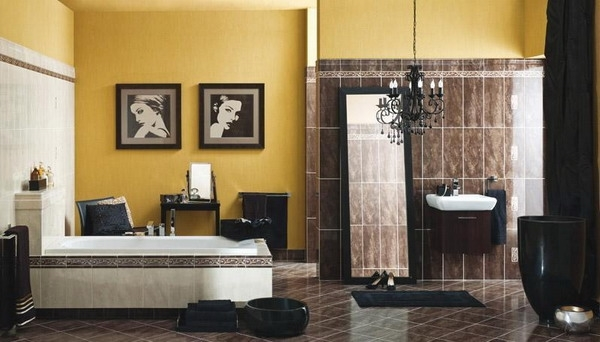 bathroom designs and colors brown and teal bathroom ideas