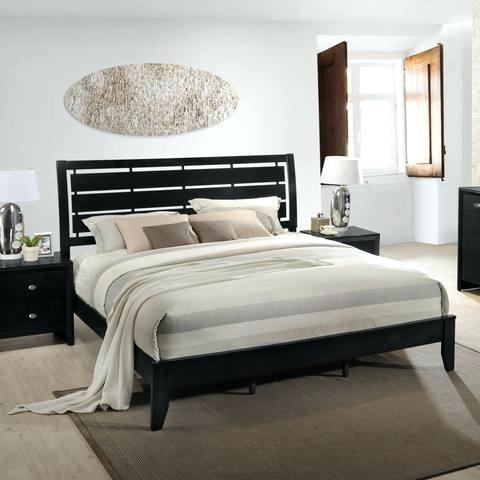 leather headboard bed black leather bed with tall tufted headboard  contemporary bedroom leather headboard king bedroom