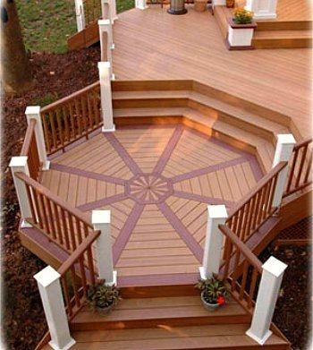 2 tier deck designs