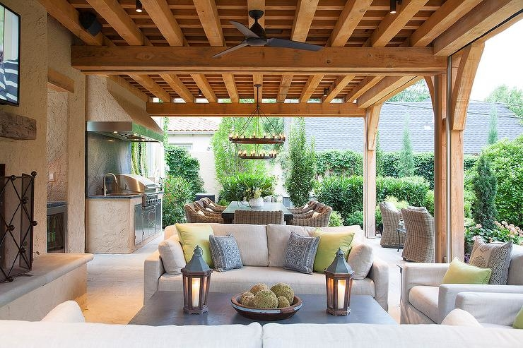 Under Deck Waterproof Outdoor Living spaces make great outdoor living areas