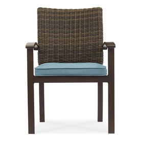 A sleek modern outdoor seating set