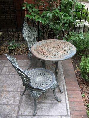 smart coffee table; outdoor decor