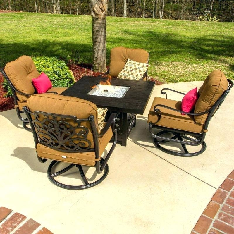 Patio Furniture Sets With Fire Pit Sophisticated Outdoor Seating