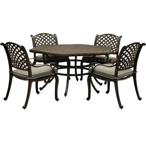 COSCO Outdoor Living Lakewood Ranch Steel and Dining Table