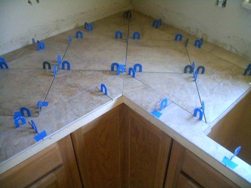 tile kitchen countertops