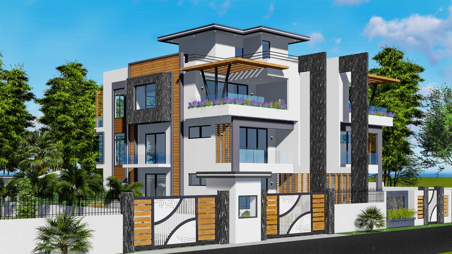 8930TWIN HOUSE DESIGN S