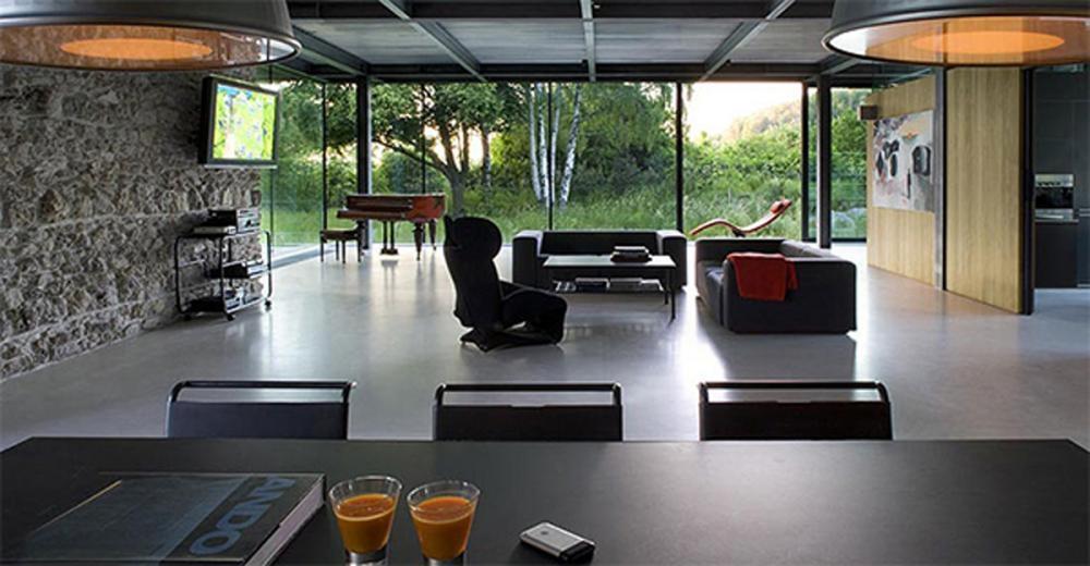 glass house designs