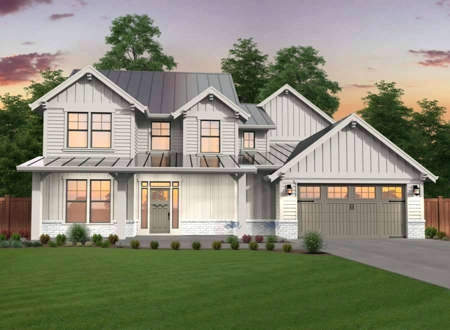 modern exterior house