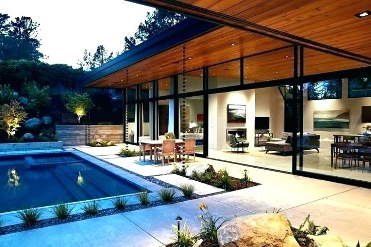 Exterior Designs Modern Glass House Design Plans With House Plans Concrete Glass Images Modern House,