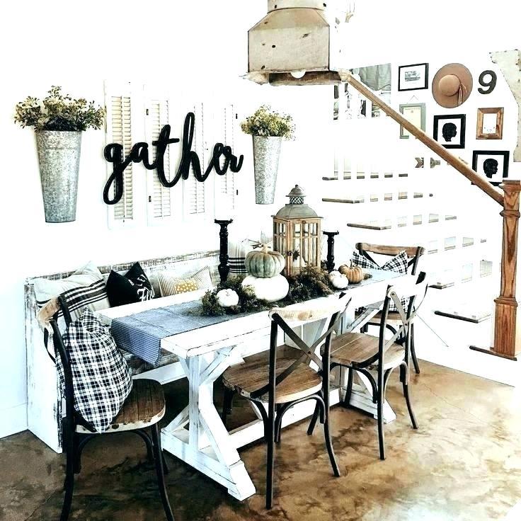 kitchen table setting ideas