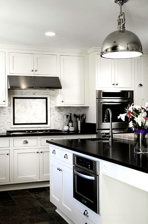 black and white kitchen modern black kitchens modern black and white kitchen  with light colored wooden