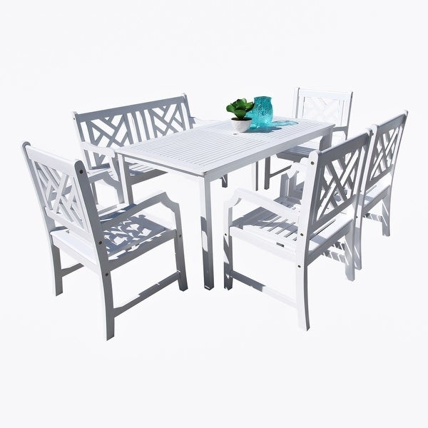 Cecil Racetrack Top Dining Table