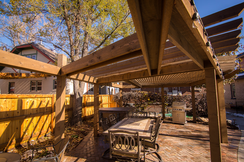 If you're thinking about remodeling your home, or just giving your outdoor  landscaping a good makeover, you should consider adding a covered deck to  your
