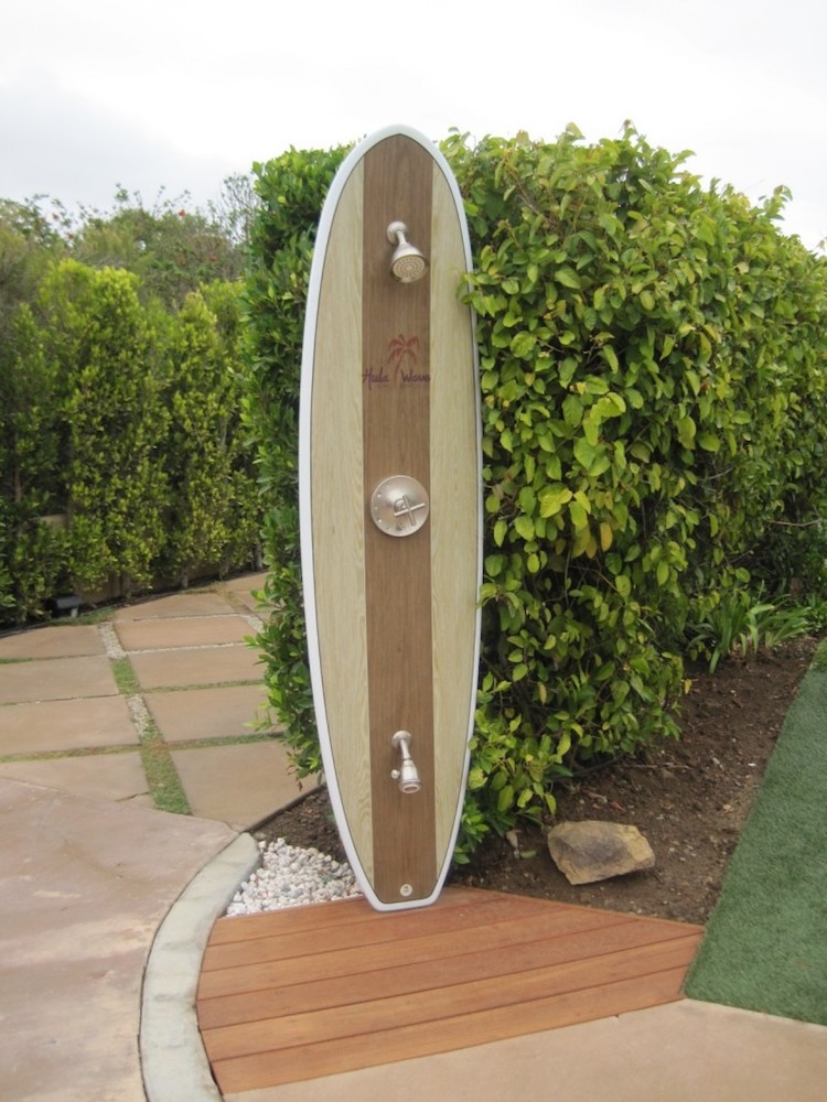 Our Cape Cod Outdoor Shower Kit Enclosures are easy to