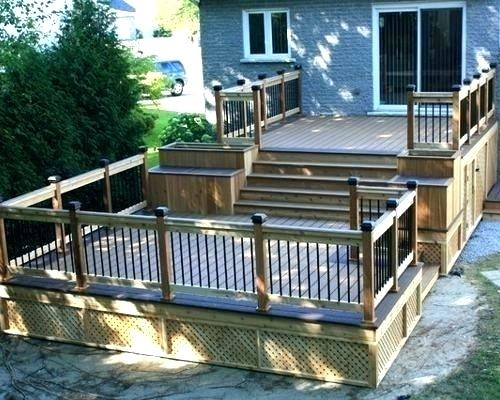 two tiered deck ideas