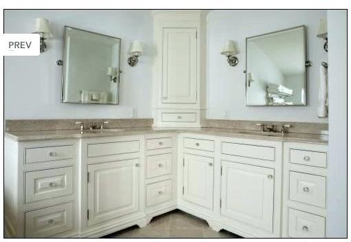 l shaped bathroom ideas