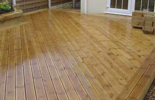 So what types of surface board designs are best for a deck? Diagonal  decking and border patterns are definitely 'in'