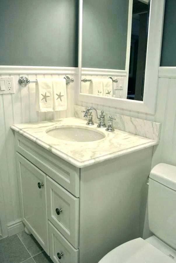beadboard small bathroom pictures very small full bathroom wainscoting