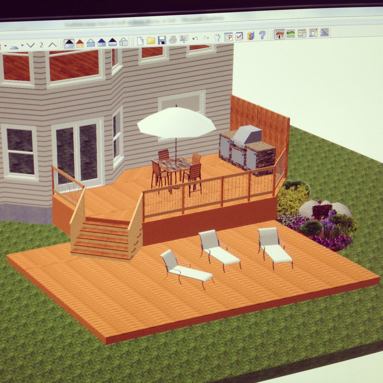 home designer architectural 1 samples decks landscaping
