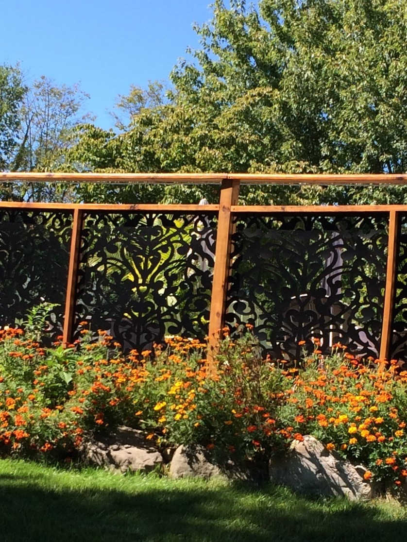 Custom Design Fence and Deck