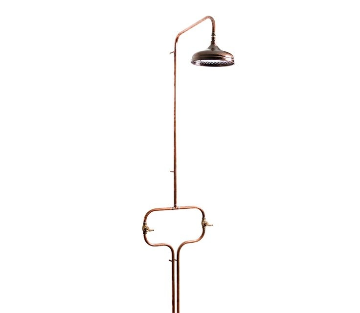 copper outdoor shower fixtures antique fixture in residence best c kit uk