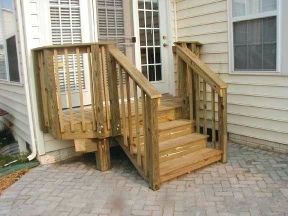 outside stairs with landing house s exterior design and carpet dublin
