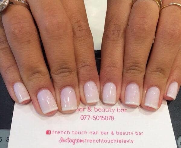 Did you ever try any of these wonderful French Tip Nail Designs? These are  the best choice for working women who cannot wear funky nail arts to work