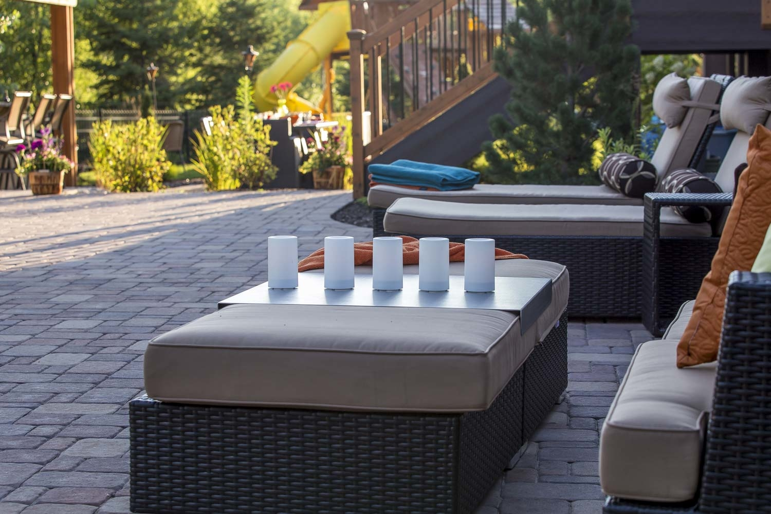 BMR pool and patio outdoor living