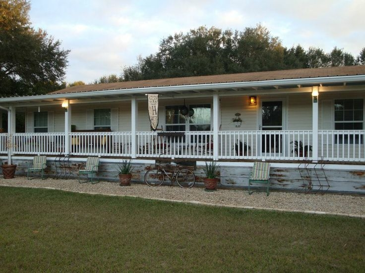 covered porch plans back ideas for mobile homes