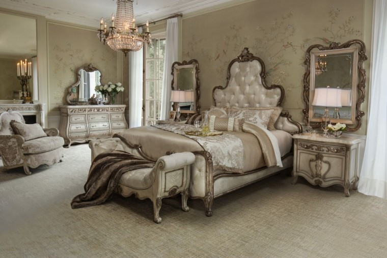 Michael Amini offers a multitude of unique bedroom collections to suit the most discerning taste