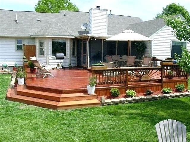 If you're looking for projects to make your deck trendy and modern place for the whole family,