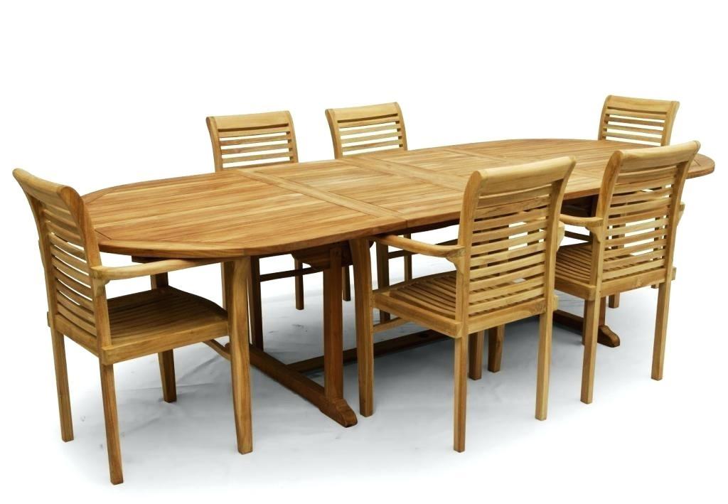 teak patio set with octagon table 52d 6 teak folding chairs rockport teak  patio chairs teak