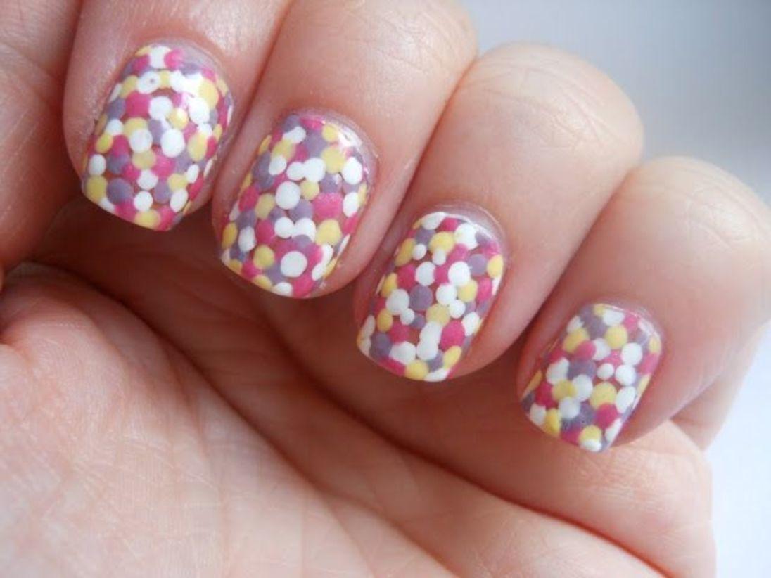 Nail Polish:New Gel Polish Nails At Home Background @[summer Nail Designs For