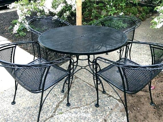 black wrought iron patio furniture sets patio glamorous metal outdoor furniture sets black metal patio furniture