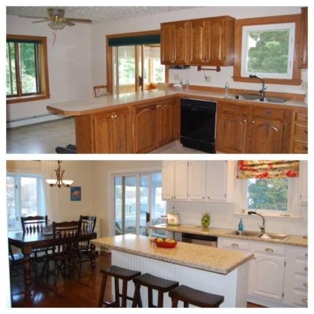 split level kitchen remodel split level kitchen this was your typical split level home kitchen big