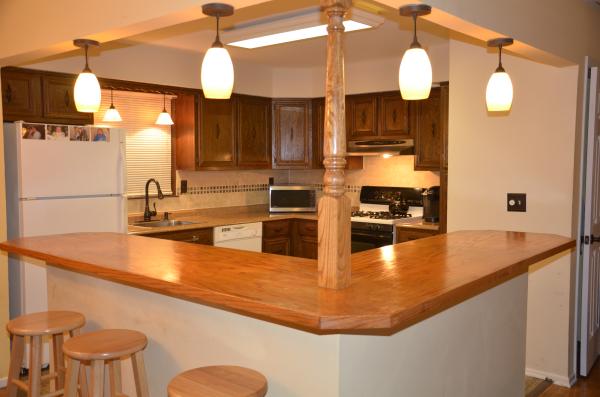 split level kitchen design