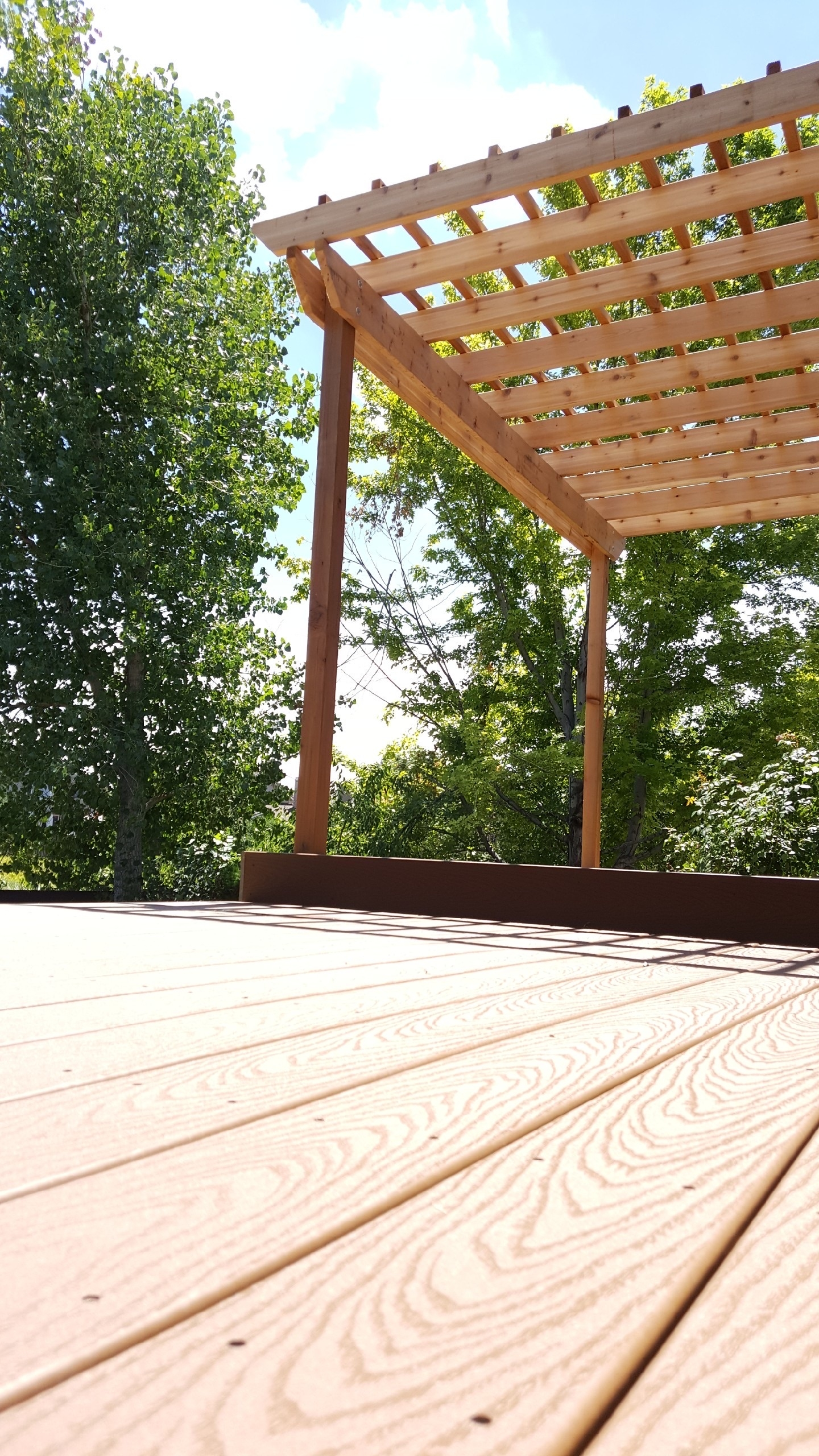 Lightweight and versatile, aluminum deck covers offer an elegant and simple  solution for your deck, regardless of level