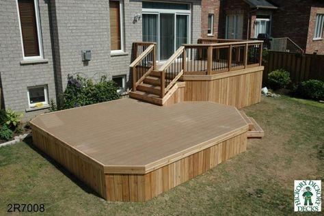 two level deck designs elevated deck design building an elevated deck  multilevel deck multi level deck