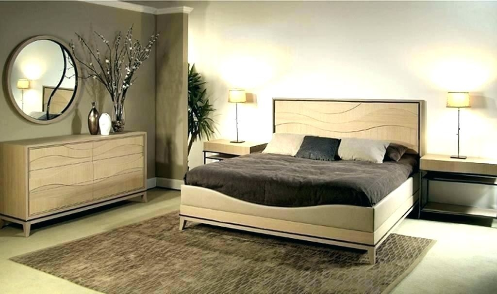 Dodge furniture white oak wood bed double bed 1