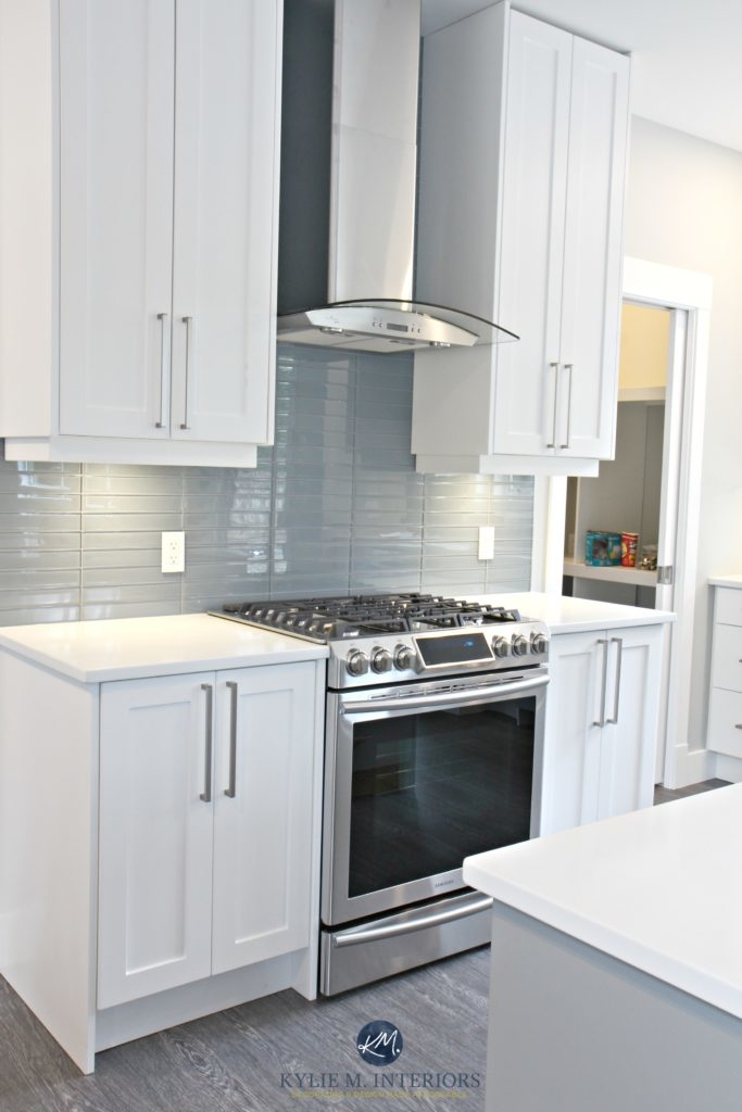 Kitchen paint color in elegant gray