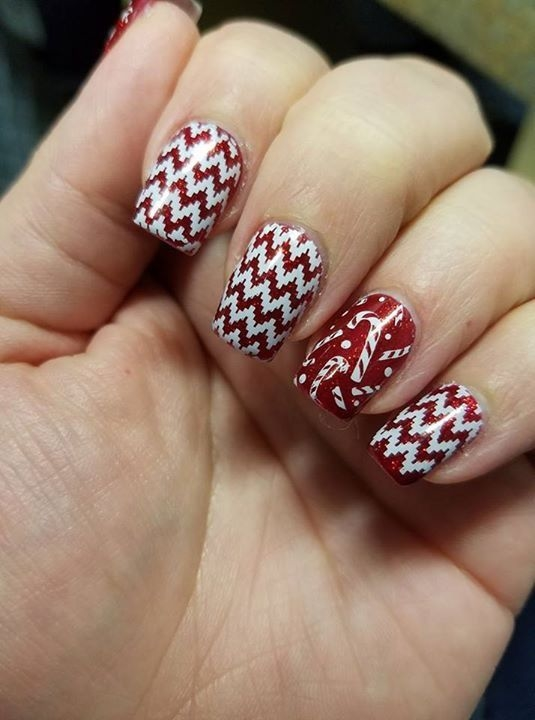 Christmas Gel Nail Designs