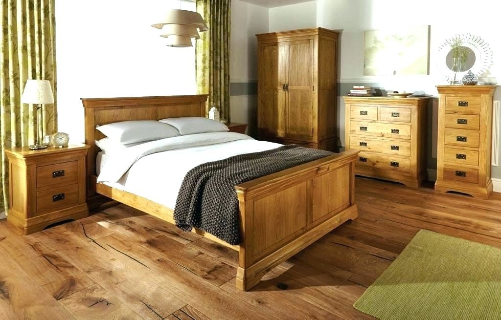 Buy Fort mactan sets of bedroom furniture oak wood bed frame double bed category 1