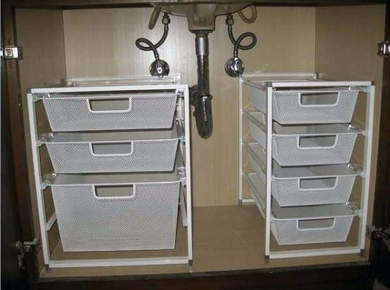 Undersink Bathroom Storage,  Organize Bathroom Drawers, Storage Ideas