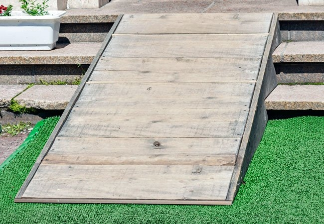 pictures of decks with ramps